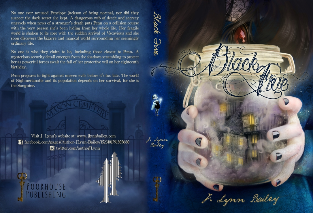 Black Five Final Cover