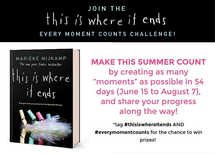 Every Moment Counts Challenge. – A New Look On Books