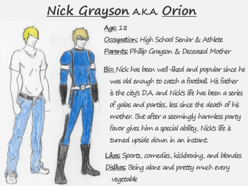 Character Bio - Nick