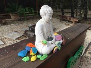 Rock Ceremony Buddha