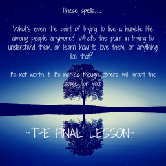Wavering Spells (Final Lesson Teaser #1)
