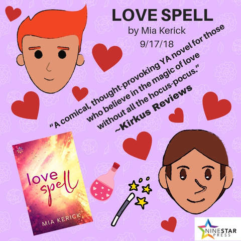 """A comical, thought-provoking YA novel for those who believe in the magic of love without all the hocus-pocus."" _Kirkus Reviews"