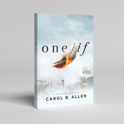 Blank Book Cover Mock-up